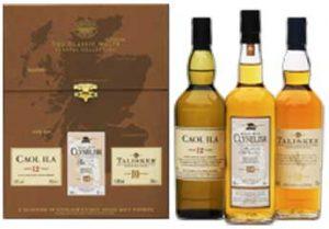 "Classic Malts Gift Set ""Coastal"" 3 x 200ml bottles"