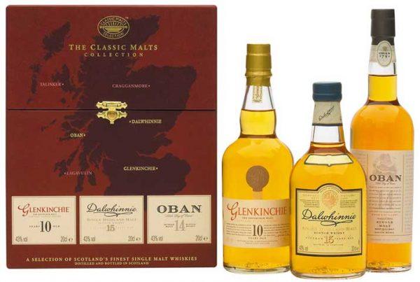 "Classic Malts Gift Set ""Gentle"" 3 x 200 ml bottles"