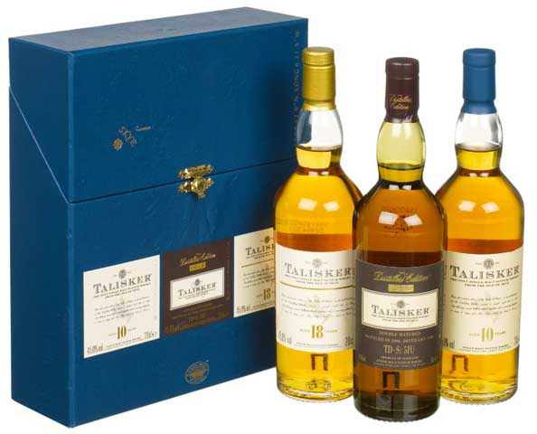 "Classic Malts Gift Set ""Talisker"" 3 x 200ml bottles"