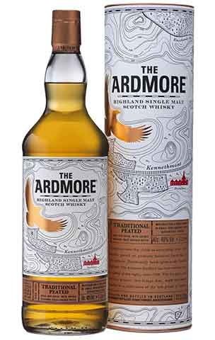 Splinternye Ardmore Traditional Peated, Litre, 40%, Single Malt Scotch Whisky SB-64