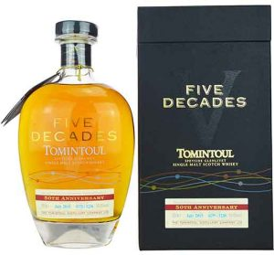 tomintoul-five-decades